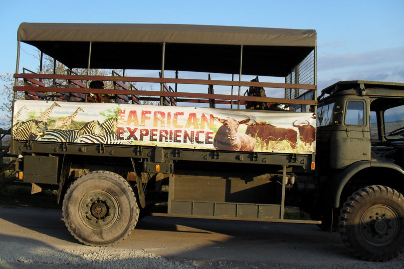 port-lympne-safari-truck