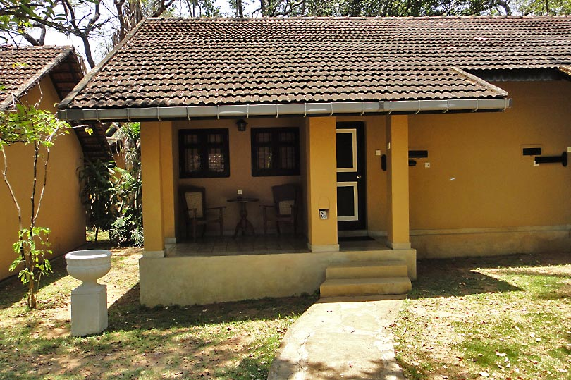 Cottage style accommodation at Chaaya Village Habarana