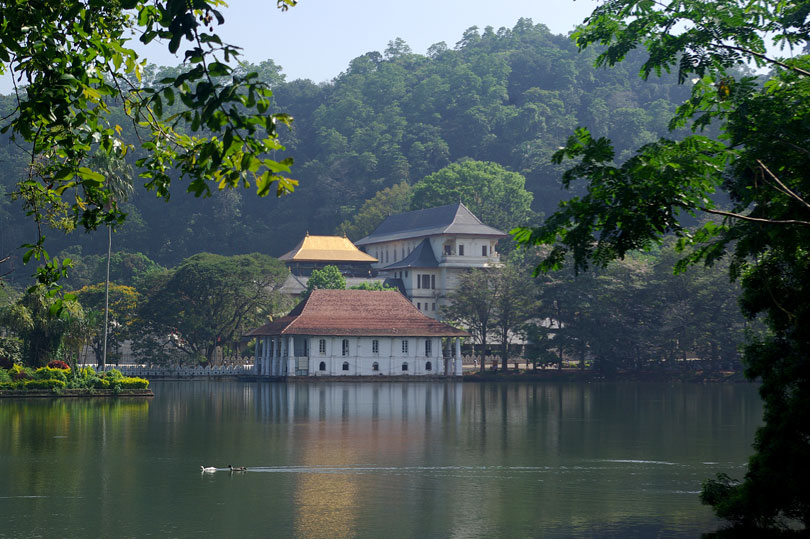 Temple of the Tooth Relic, Kandy, Sri Lanka