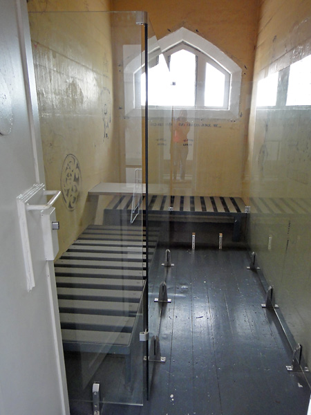 Preserved room at The Jailhouse in Christchurch
