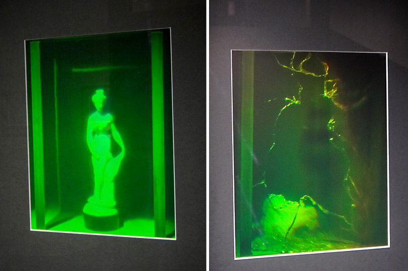 Cool hologram at Puzzling World in Wanaka