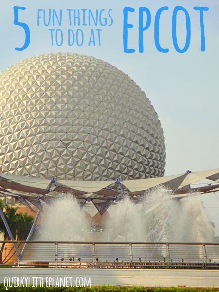 5 fun things to do at epcot