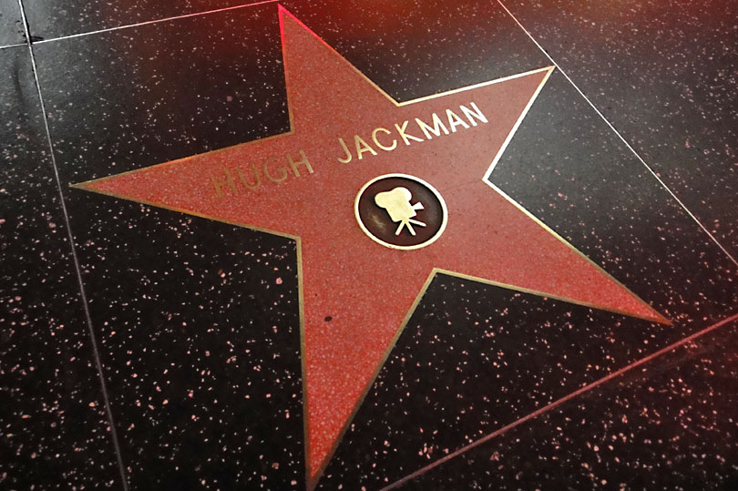 Hugh Jackman's star on the Hollywood Walk of Fame