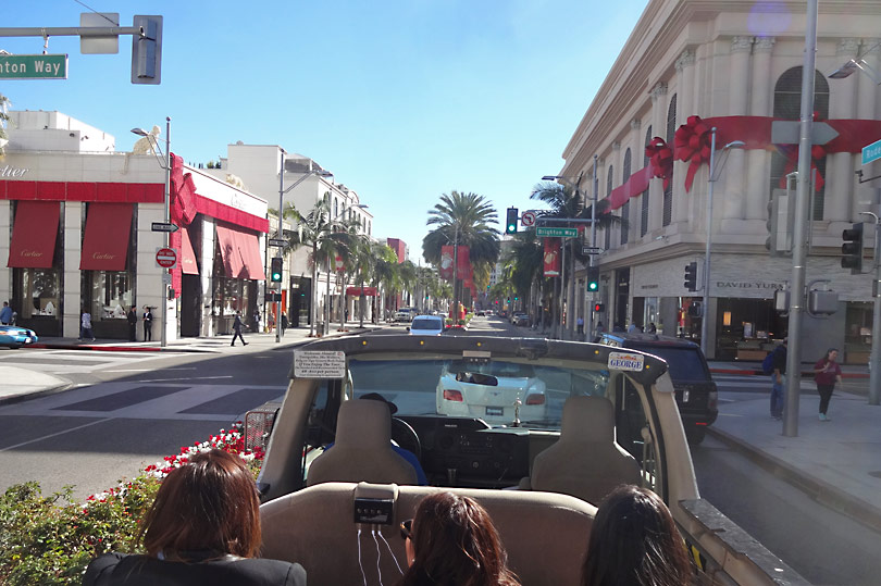 Take a Movie Star Homes Tour and go celeb spotting on Rodeo Drive