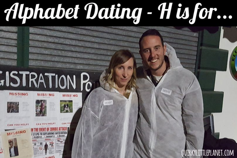 Alphabet Dating - H is for Halloween