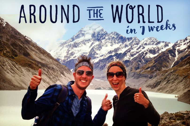 Around the world in 7 weeks - a video diary