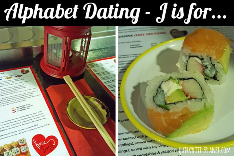 Alphabet Dating J is for Japanese Food