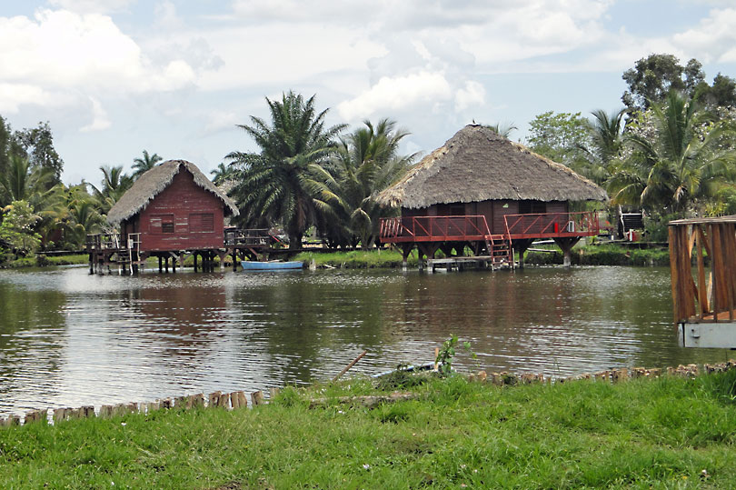 Replica Taino Village in Cuba