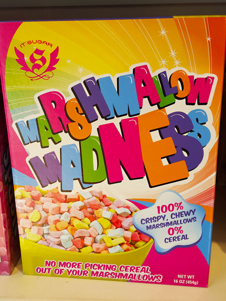 Marshmallow madness - no more picking cereal out of your marshmallows